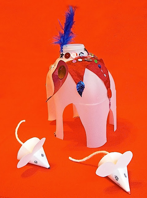 milk carton elephant