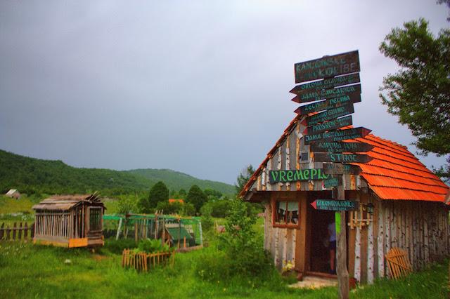 Указатели на объекты в Этно деревне
