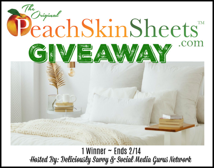 Peach Skin Sheets Giveaway