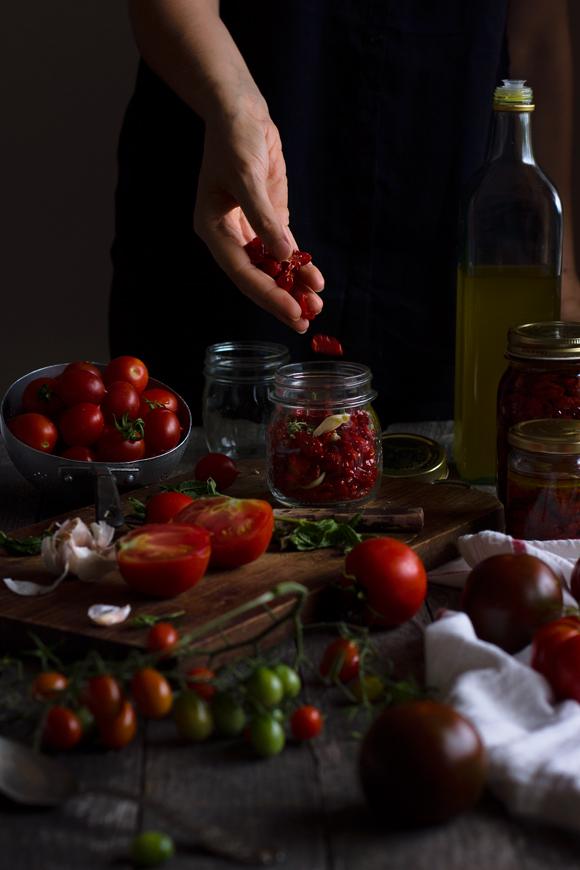 Pomodorini secchi sottolio