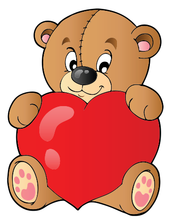 Big heart bear