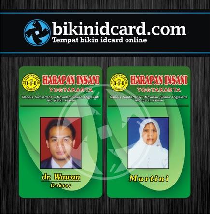 cetak id card pegawai puskesmas