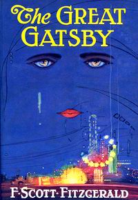 "Cover of ""The Great Gatsby"", a novel by F. Scott Fitzgerald"