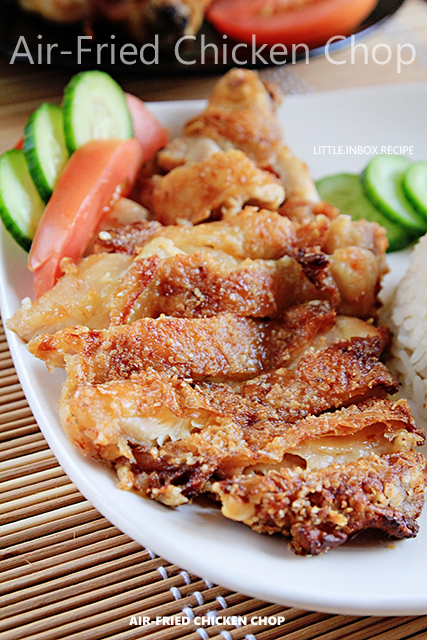Little inbox recipe eating pleasure air fried chicken for Airfryer recipes fish