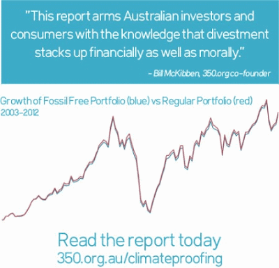 No benefit to fossil fuel investment