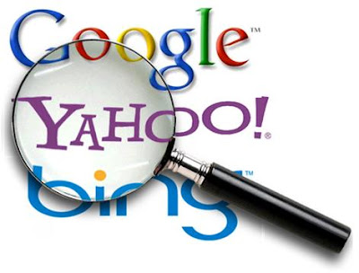 Search on Google, Yahoo! & Bing
