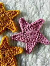 Estrellas a crochet