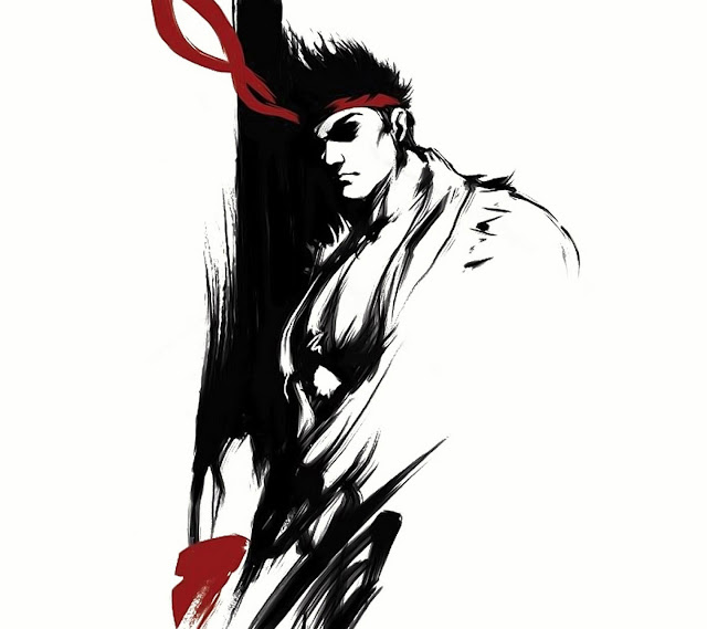 Galaxy S3 Wallpaper - Street Fighter Ryu Art