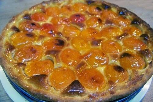 Tarte aux abricots et à la poudre d'amande