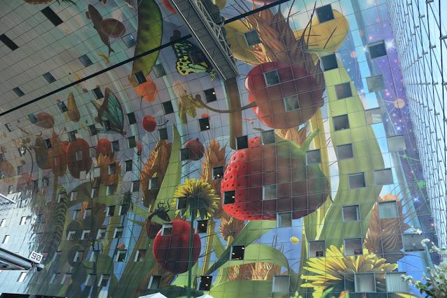 Markthal Rotterdam mosaic