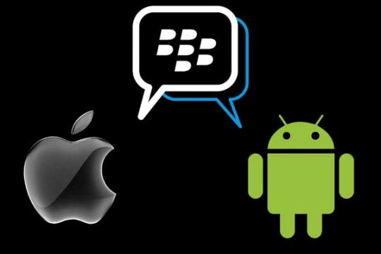 BBM Available For iOS and Android