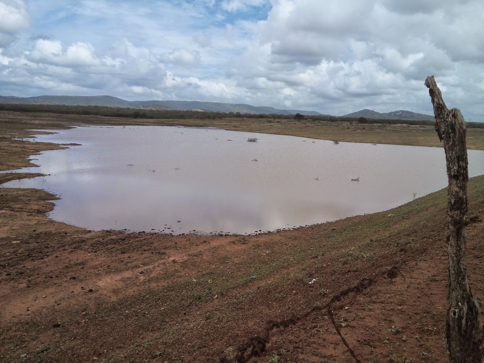 Previsão indica chuvas em parte da Paraíba
