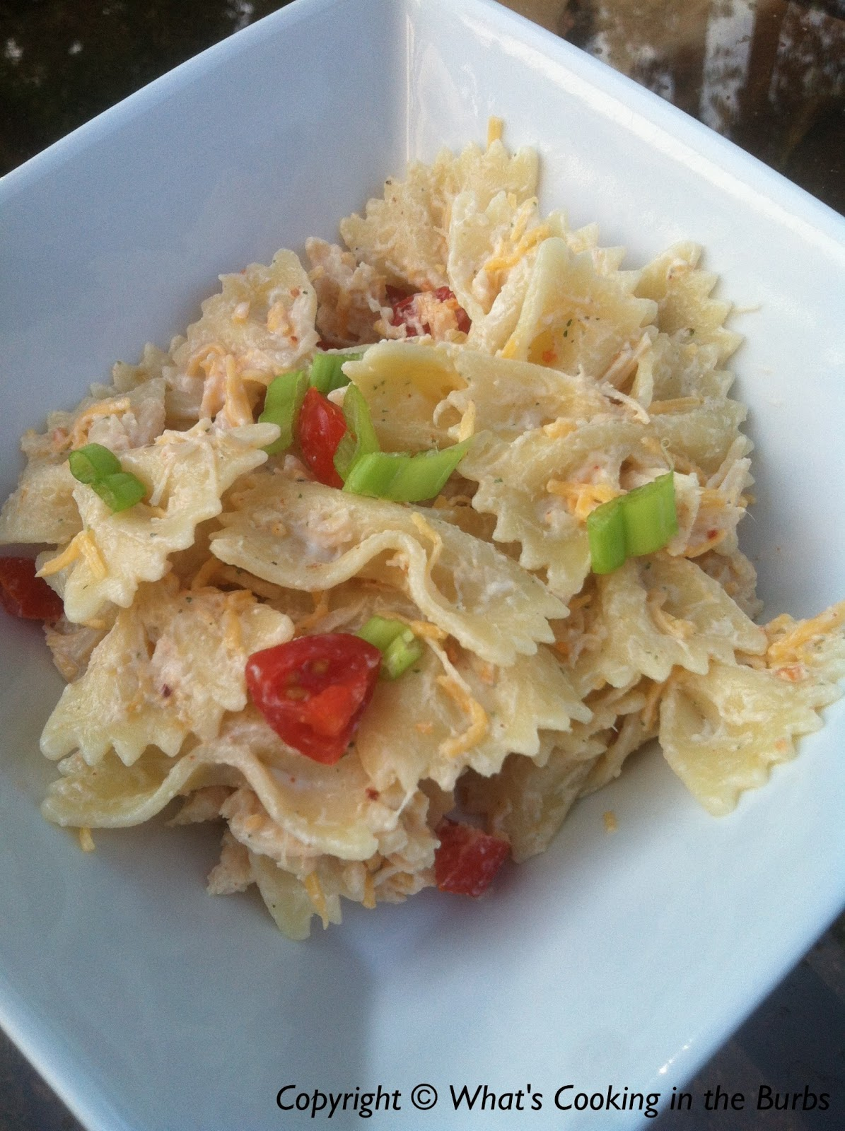 ... pasta salad i love this salad since i can prepare it ahead of time