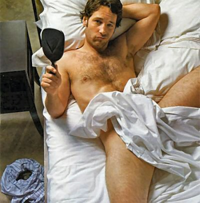 Paul Rudd Shirtless
