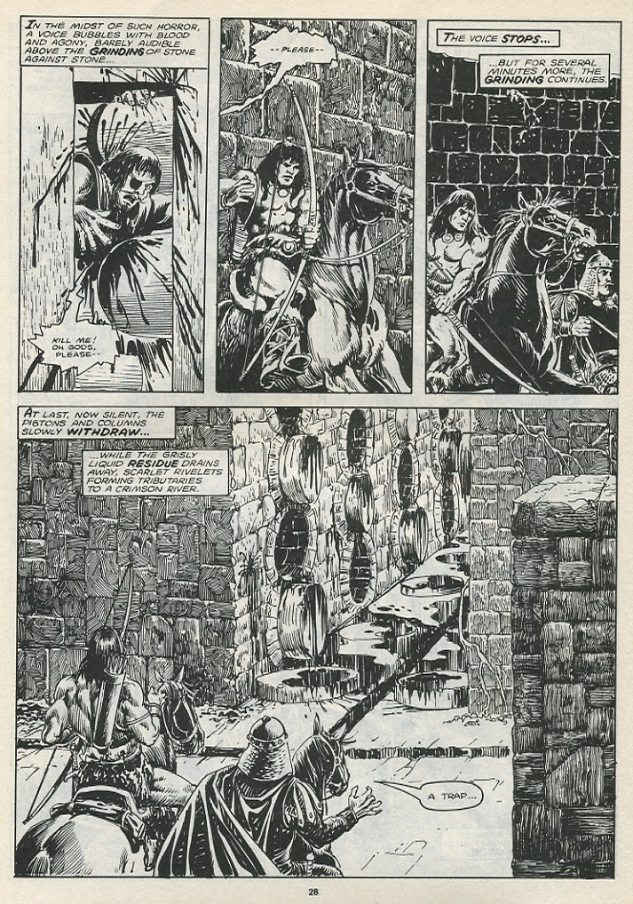 The Savage Sword Of Conan Issue #174 #175 - English 30