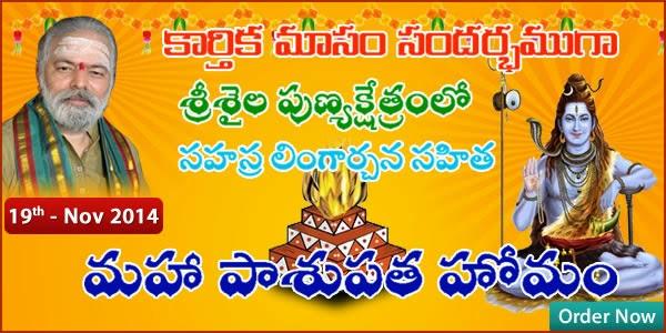 http://www.mulugu.com/KarthikaMasam-MahaPasupathaHomam.php
