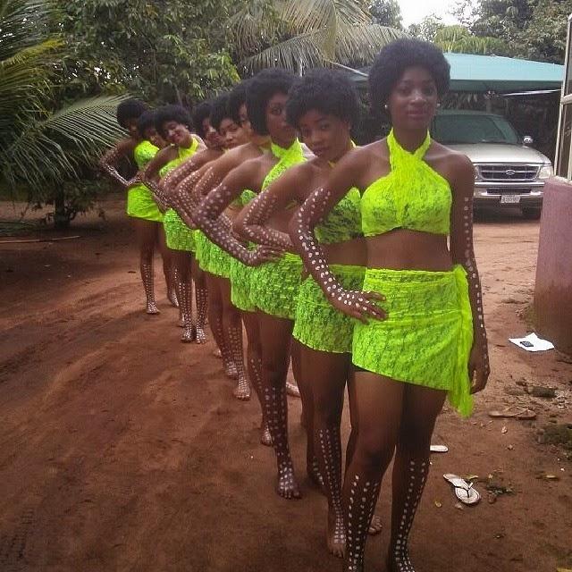 Chiemela Nwagboso costumes