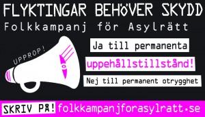 Folkkampanj för asylrätt