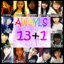 always 13+1 ♥