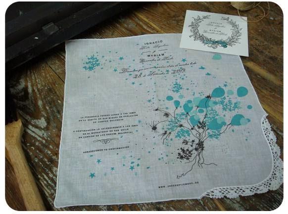 invitaciones de boda en tela blog mi boda invitacion boda original