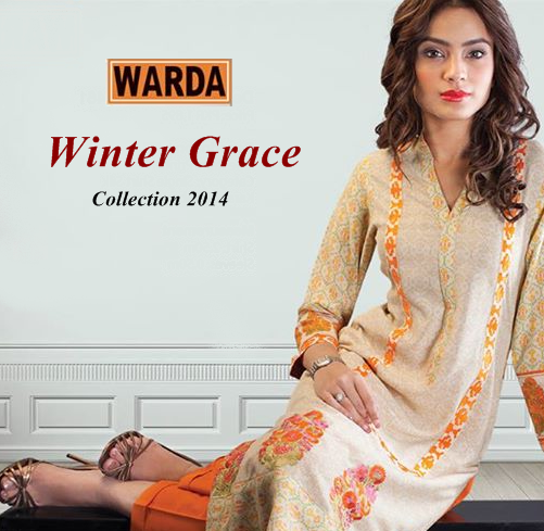 Warda Fall / Winter Collection 2014