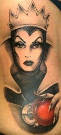Evil Queen - Disney Villain Tattoo
