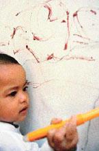 pgtk darunnajah | menstop kegemaran anak mencoret-coret
