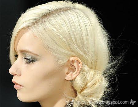Асиметрично Updo – Chanel есен/зима 2011/12
