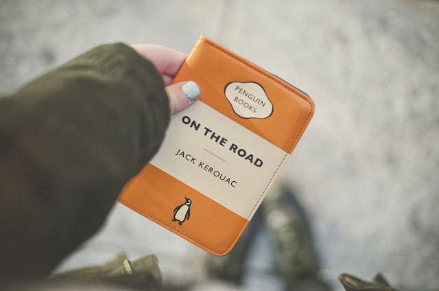 Jack Kerouac, On the Road, Passport, holder, travel,