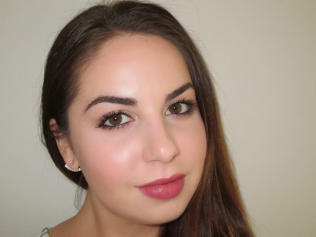 a picture of Colourpop Cosmetics makeup look, lumiere lippie stix (lip swatch)