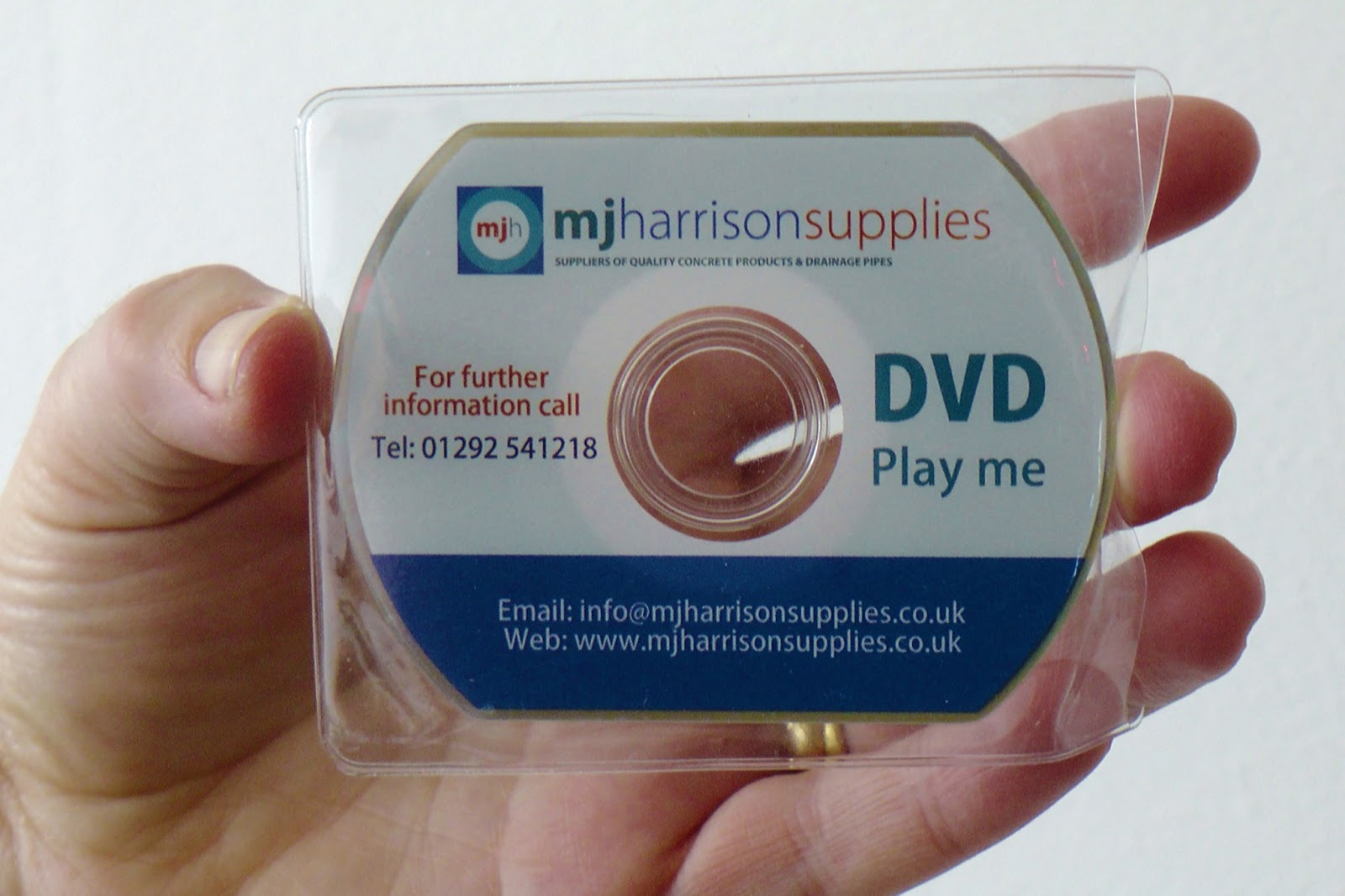 Videoeezy from Tosh Lubek Productions: How DVD Business Cards Can ...