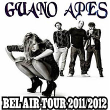 Conciertos de Guano Apes en enero en Madrid y Barcelona