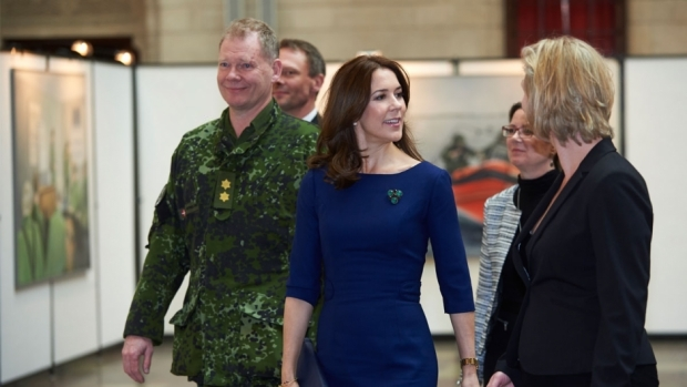 Crown Princess Mary wore LK BENNETT dress - HUGO BOSS