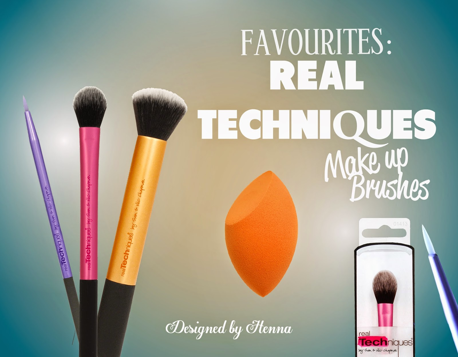 Real Techniques is a great brand for quality brushes at a fraction of the price other higher end brushes would cost. These super soft synthetic bristle ...