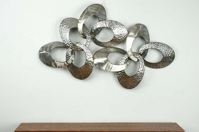 Los detalles de aneva cuadro metal for Decoracion pared metal