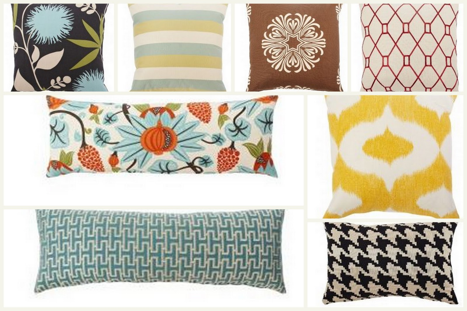 Serenity Now: Decorative Pillow Giveaway- Pillows by Dezign