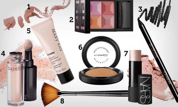 Produtos - Tutorial de maquiagem: pele perfeita e iluminada