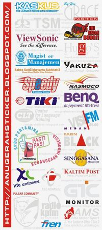 Sample Sticker  Promosi