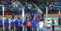Ceremonia de apertura de los I Juegos Patrios Dominicanos Madrid 2017