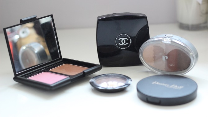 old blushers and bronzers to throw away
