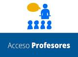 ACCESO PROFESORES