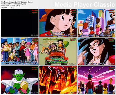 Download Film / Anime Dragon Ball GT Episode 40 Bahasa Indonesia
