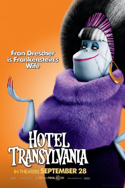 hotel transylvania, fran drescher