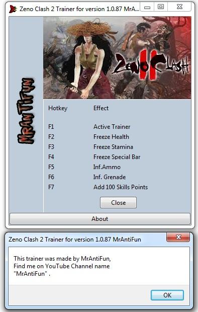 Zeno Clash 2 Trainer +7 MrAntiFun
