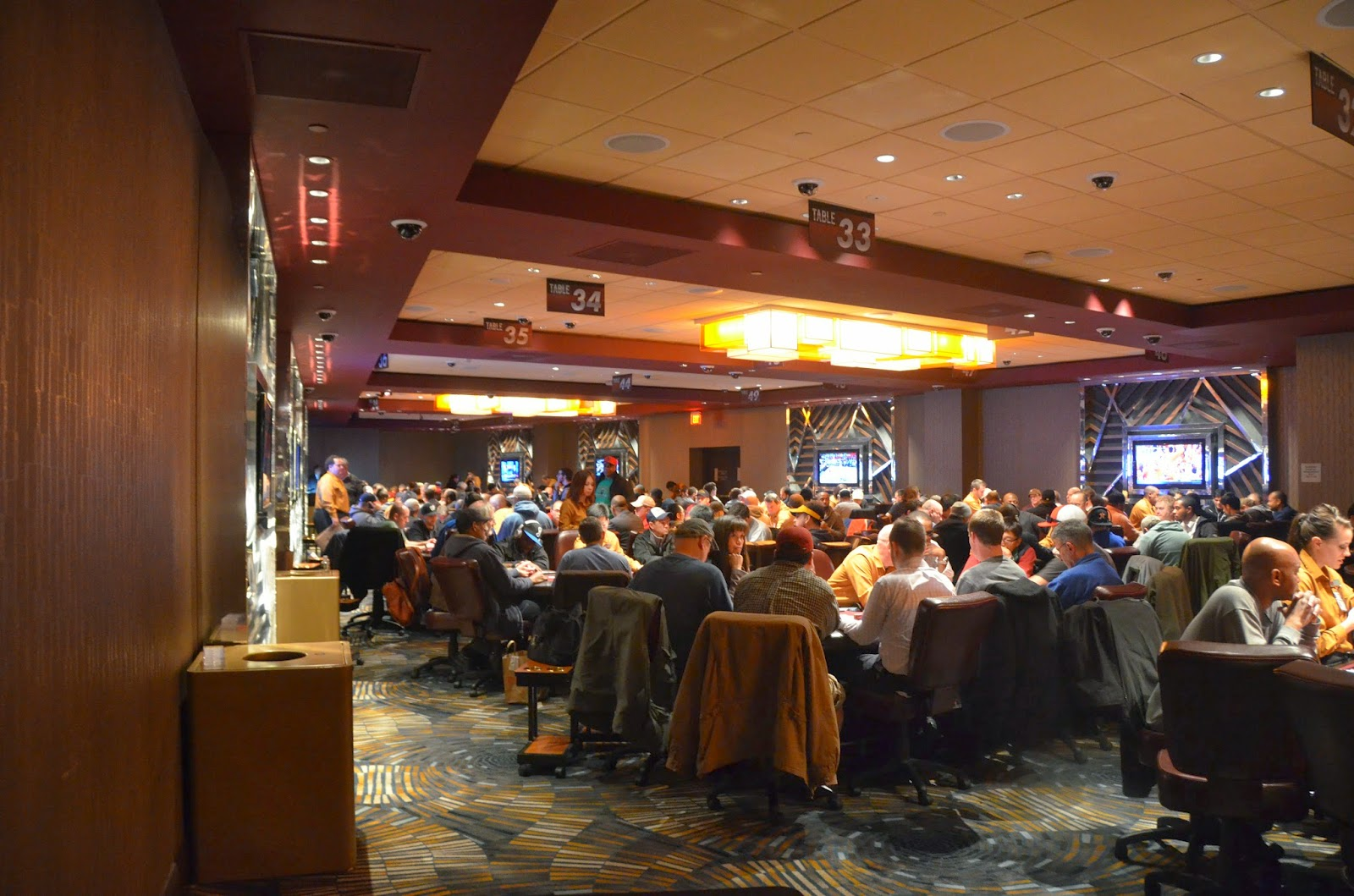 Poker Room Second Floor (Cash Area)