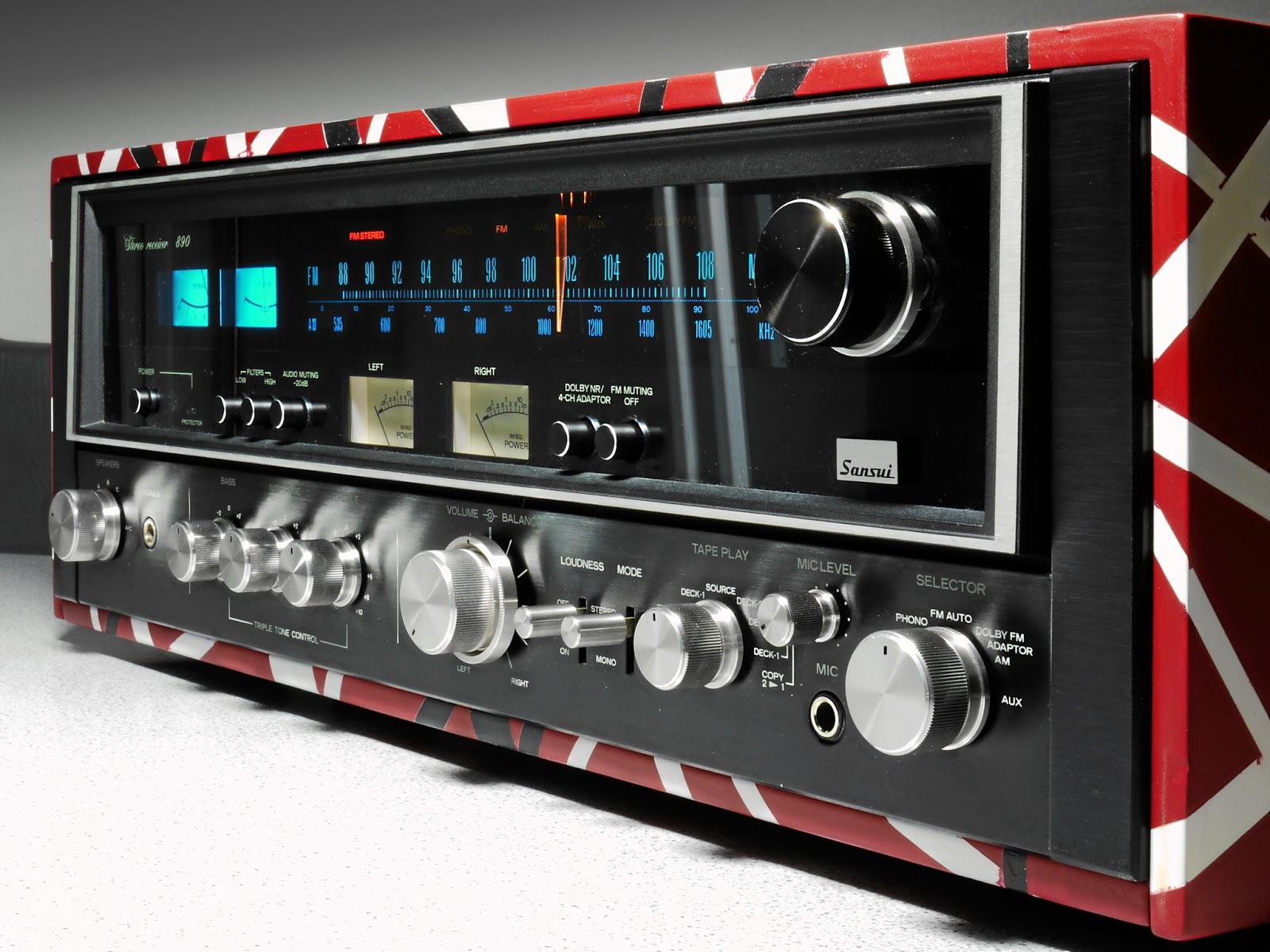 Golden Age Of Audio Sansui 890 Eddie Van Halen Edition