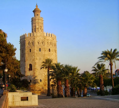 Golden Tower in Seville