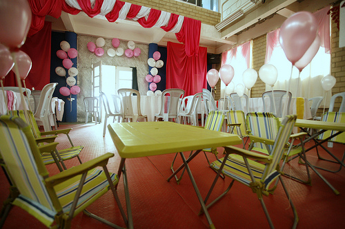 how to decorate birthday party at home kids art