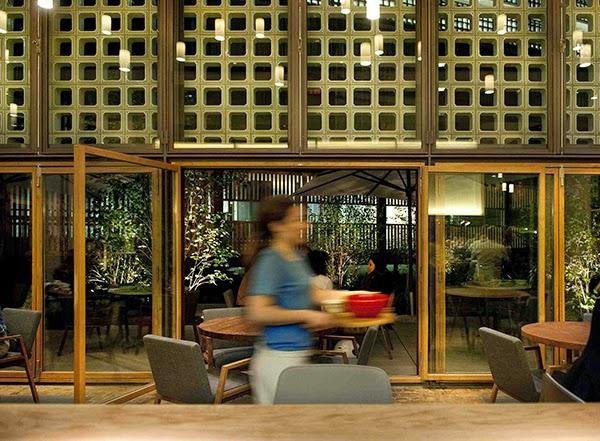 Marzua el restaurante bosco de lobos coloniza el colegio for Restaurante escuela de arquitectos madrid