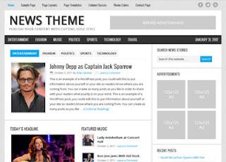News Theme – Genesis Child StudioPress SEO Responsive